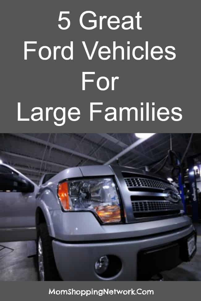 5 Great Ford Vehicles For Large Families