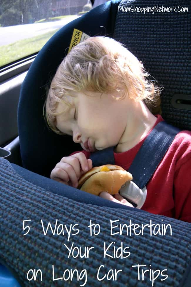 5 Ways to Entertain Your Kids on Long Car Trips