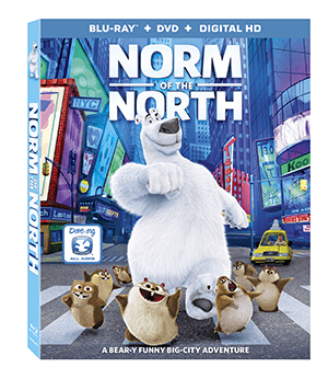 Norm of the North is on Blu-Ray Combo Pack Tomorrow