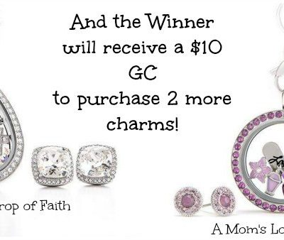 Giveaway- Origami Owl- $300 Value