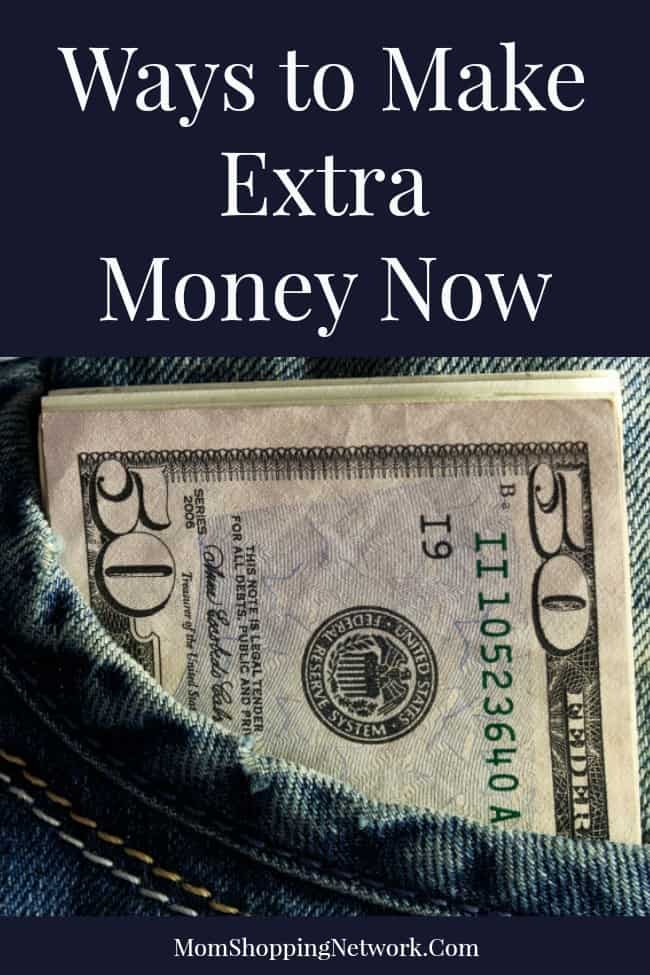 Ways to Make Extra Money Now. #moneytips #financetips #earnmoney