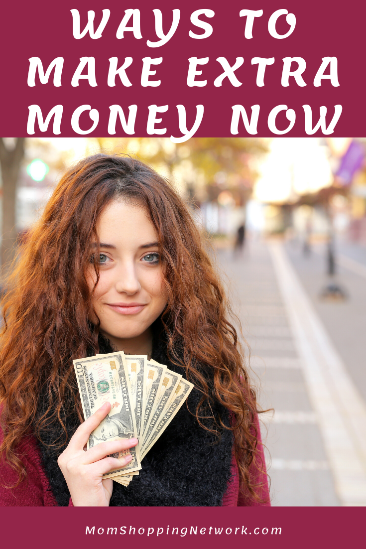 Ways to Make Extra Money Now #money #moneytips #saving #earningmoney