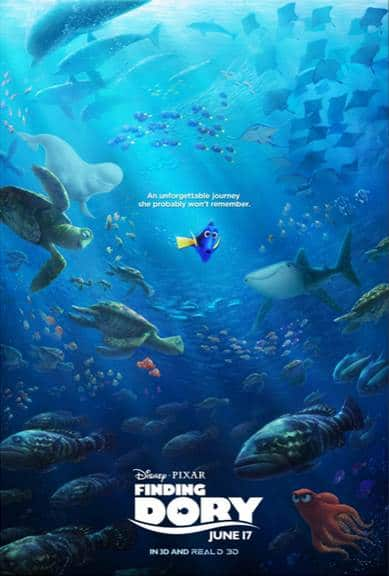 Finding Dory Coloring Sheets Now Available!