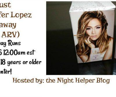 Giveaway- JLust Perfume by Jennifer Lopez