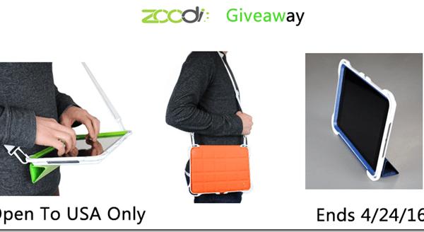 Giveaway- Zoodi IPad Case