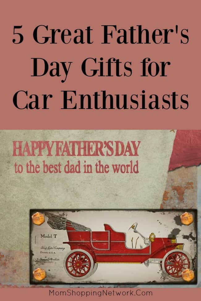 5 Great Father's Day Gifts for Car Enthusiasts