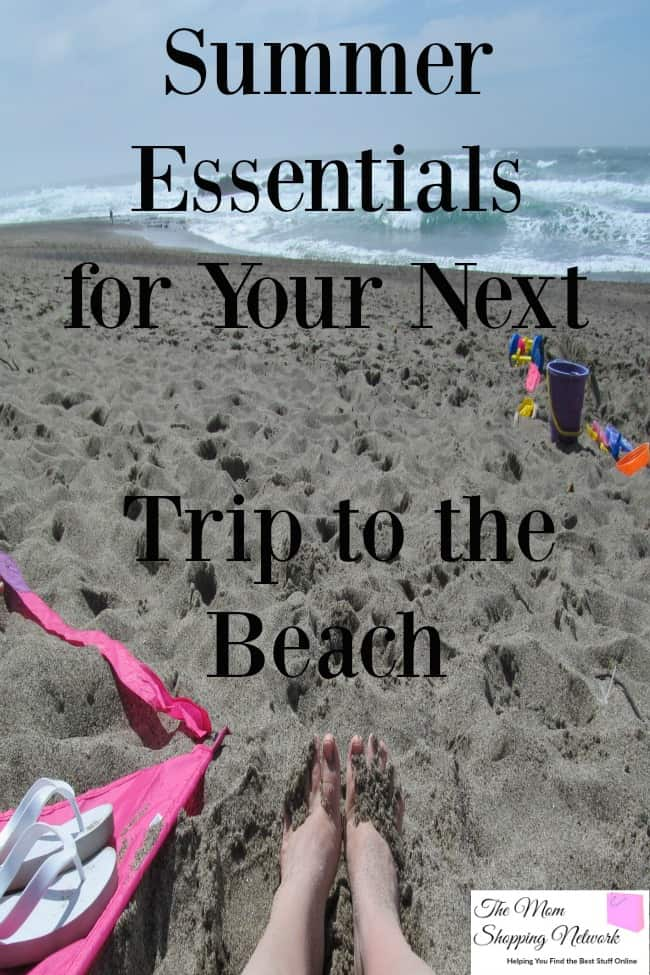 If you're a beach-going family like we are, you definitely don't want to be without these on your next beach trip!