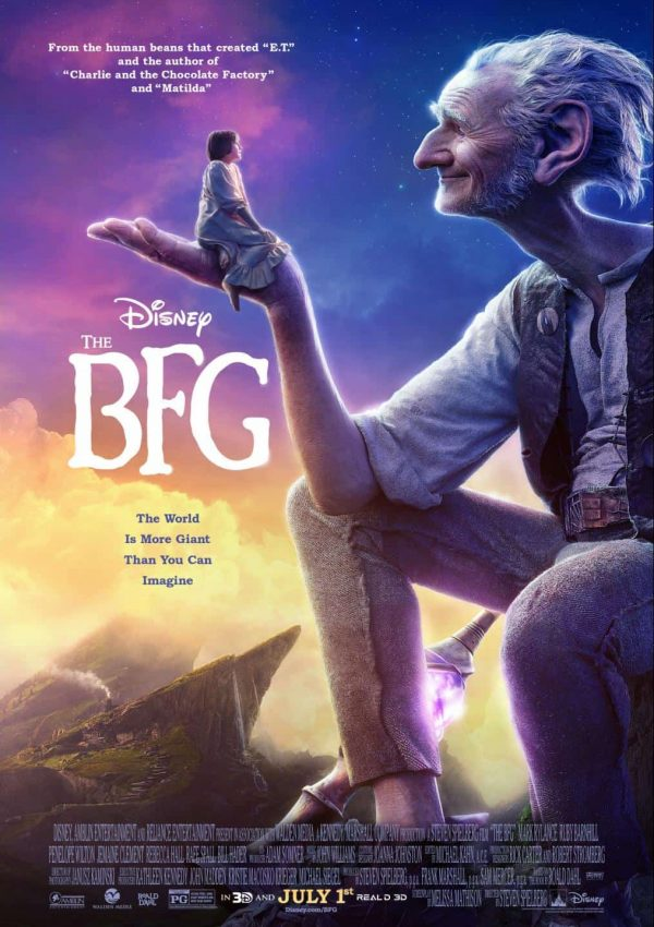 Disney's The BFG Opening in Theatres This Friday July 1