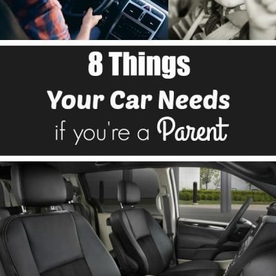 These are 8 things your car needs if you're a parent, these are really helpful tips for moms and dads!
