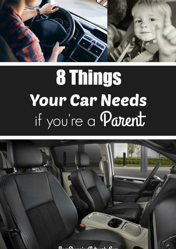 8 Things Your Car Has to Have if You're a Parent