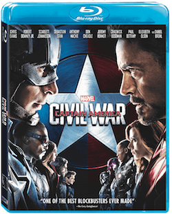 Marvel's Captain America: Civil War Coming Soon to Digital HD and Blu-ray