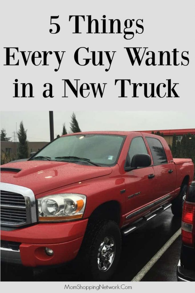 If your guy is getting a truck, he'll definitely want these!