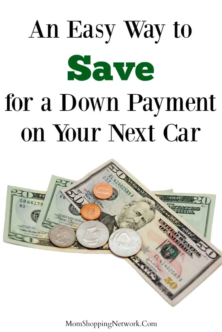 An Easy Way to Save for a Down Payment on Your Next Car #savingmoney #money #financetips