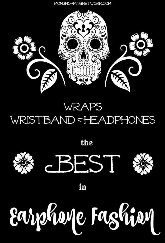 These wrapping headphones are a great way to keep your earphones close by and untangled!
