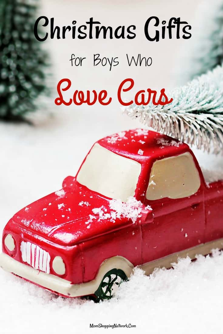 Christmas Gift Ideas For Boys Who Love Cars - The Mom Shopping Network