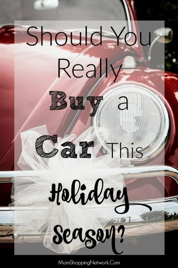 If you're on the fence about buying a car this holiday season, these tips will definitely help you make a decision!