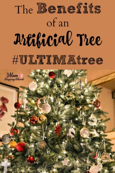 The Benefits of an Artificial Tree #ULTIMAtree
