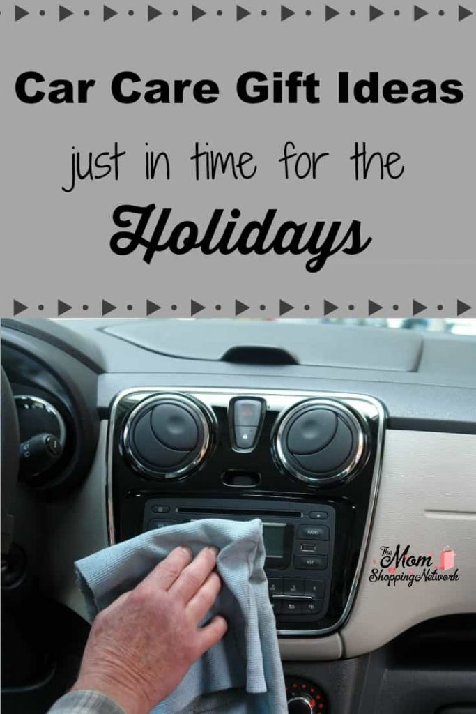 These practical, car care gift ideas for the holidays are perfect for the car lover on your shopping list! #carcare #gifts #cars #men