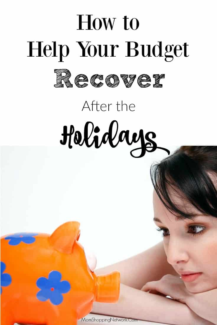 Need help to help your budget recover after the holidays? You should check out these tips, they really work! #financetips #budgettips #recoveraftertheholidays