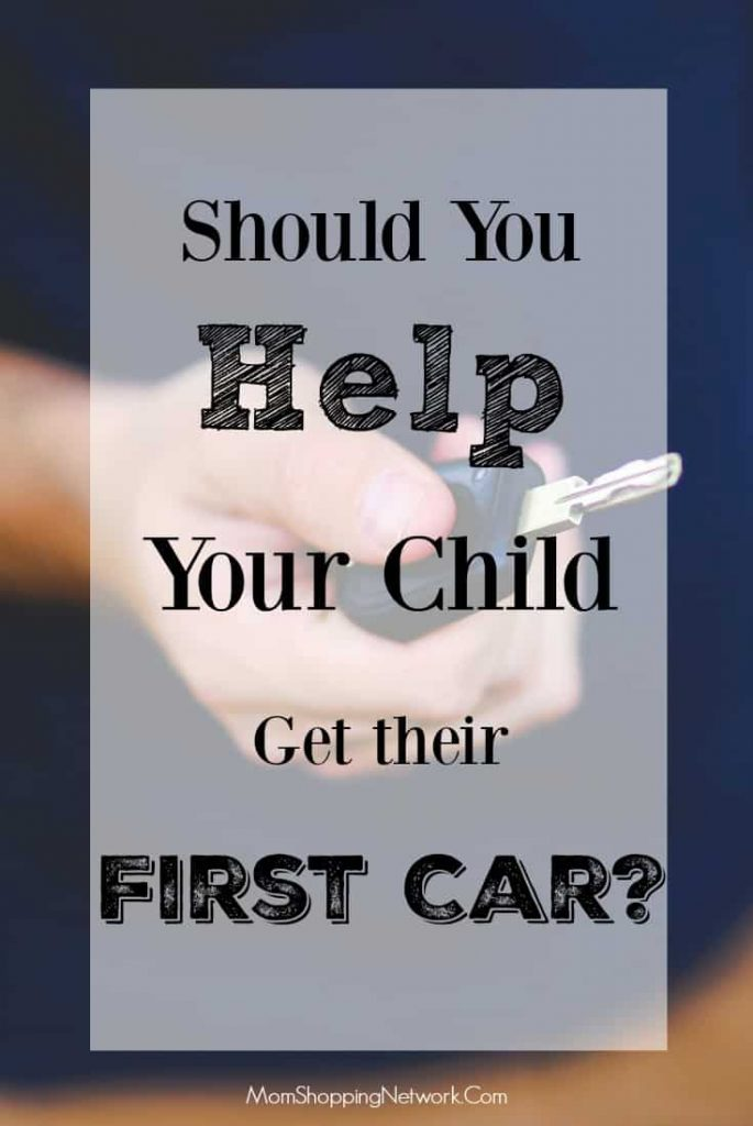 If you're not sure if you should help your child get their first car, this will help you decide!