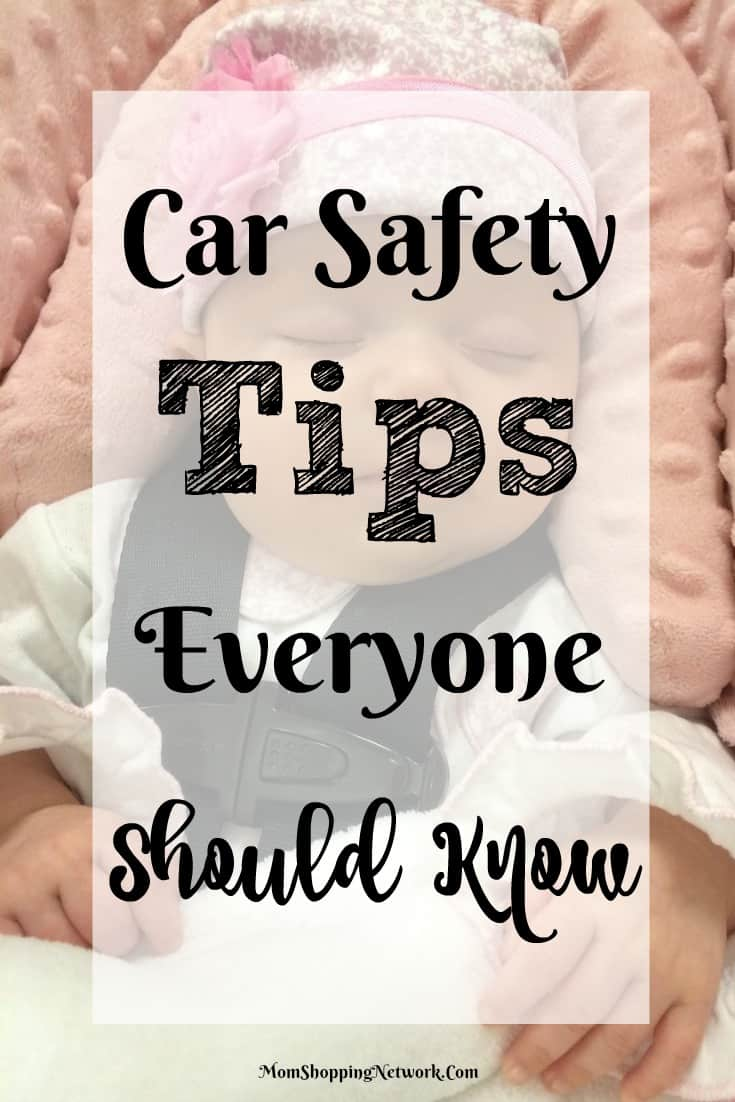 These are really great car safety tips to make sure you're keeping your family safe on the road. Love it!