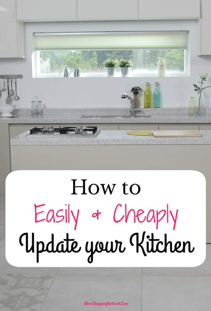 Great tips on how to easily and cheaply update your kitchen, good stuff! Kitchen|update your kitchen|kitchen tips|how to update your kitchen|steps to update your kitchen|kitchen ideas|kitchen hacks