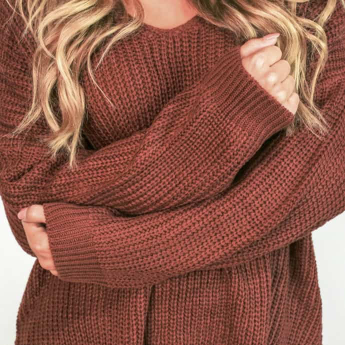 plus size women's sweater
