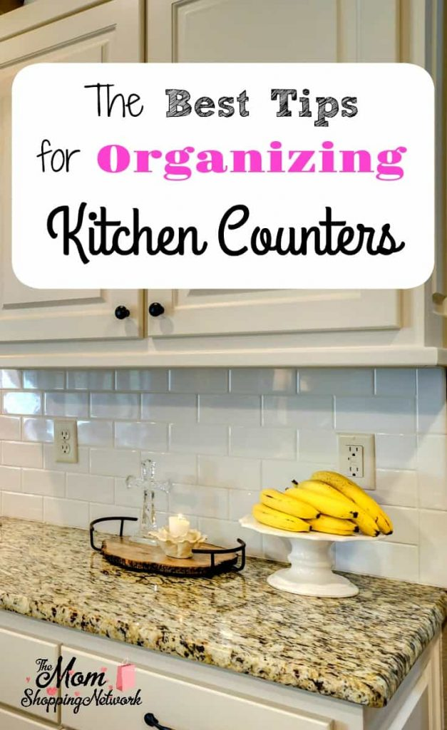 Organized Kitchen countertops
