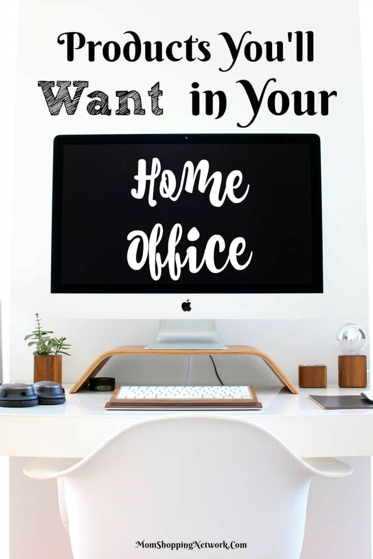 These are definitely products you'll want in your home office, they make working at home a whole lot easier! Home office | work at home | office supplies | office decor | work at home office