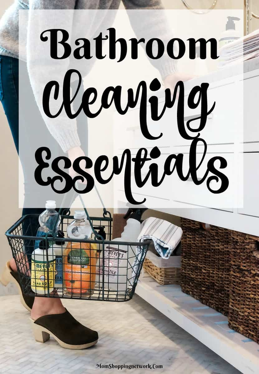 Bathroom Cleaning Essentials That Make Cleaning Your Bathroom a Whole lot easier...glad I found this!