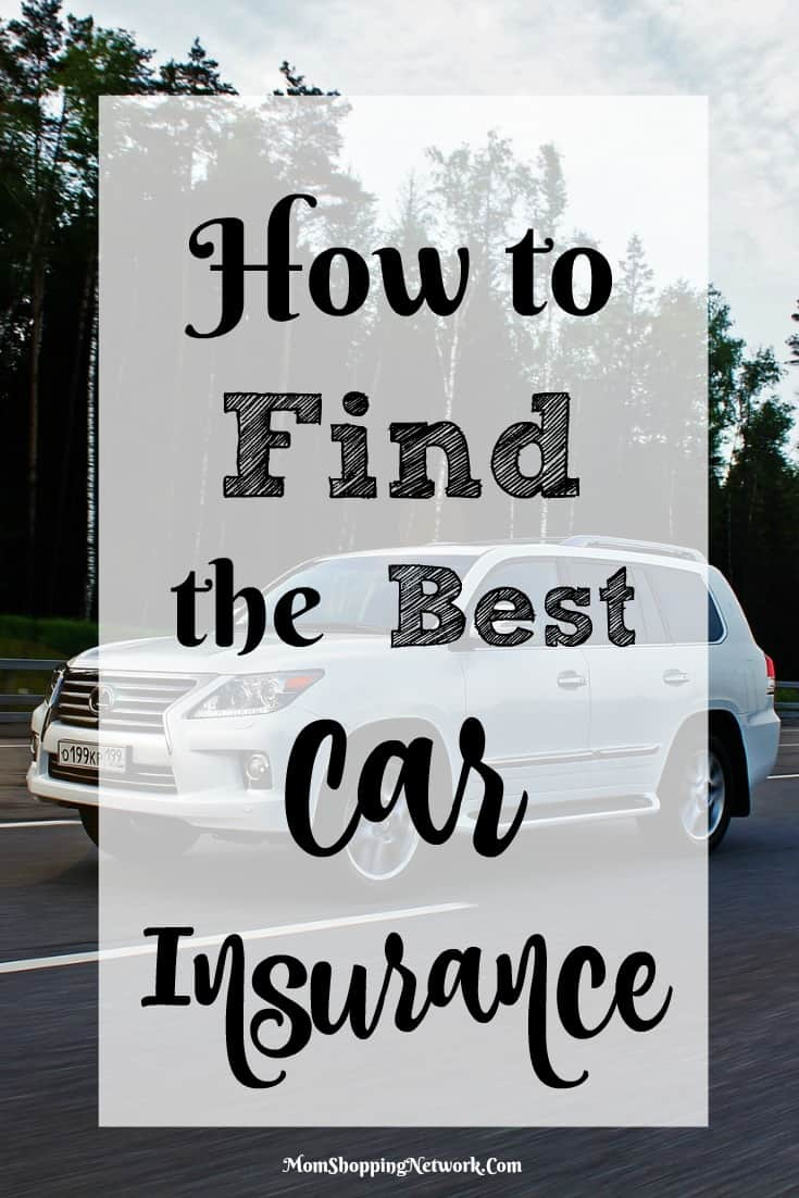 how to find the best car insurance the mom shopping network. Black Bedroom Furniture Sets. Home Design Ideas
