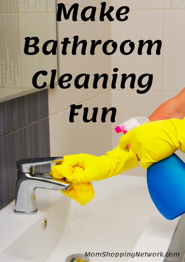 6 Tips to Make Bathroom Cleaning Fun