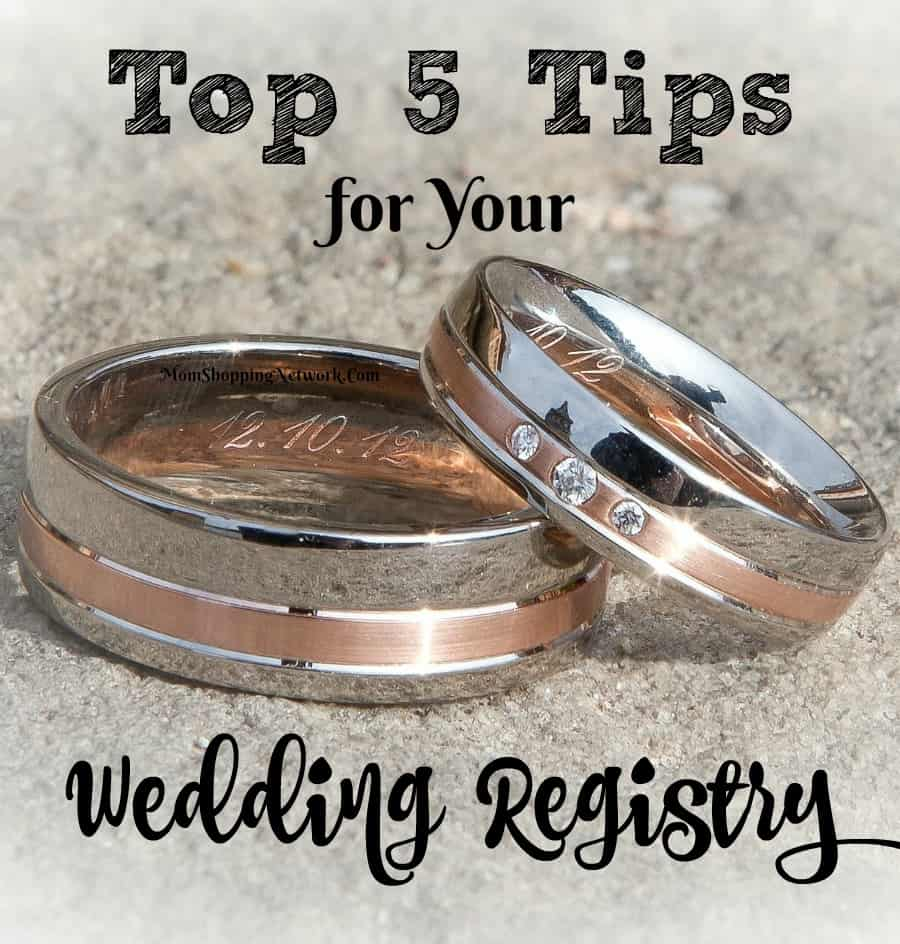 These tips for your wedding registry really help, glad I found these ideas!