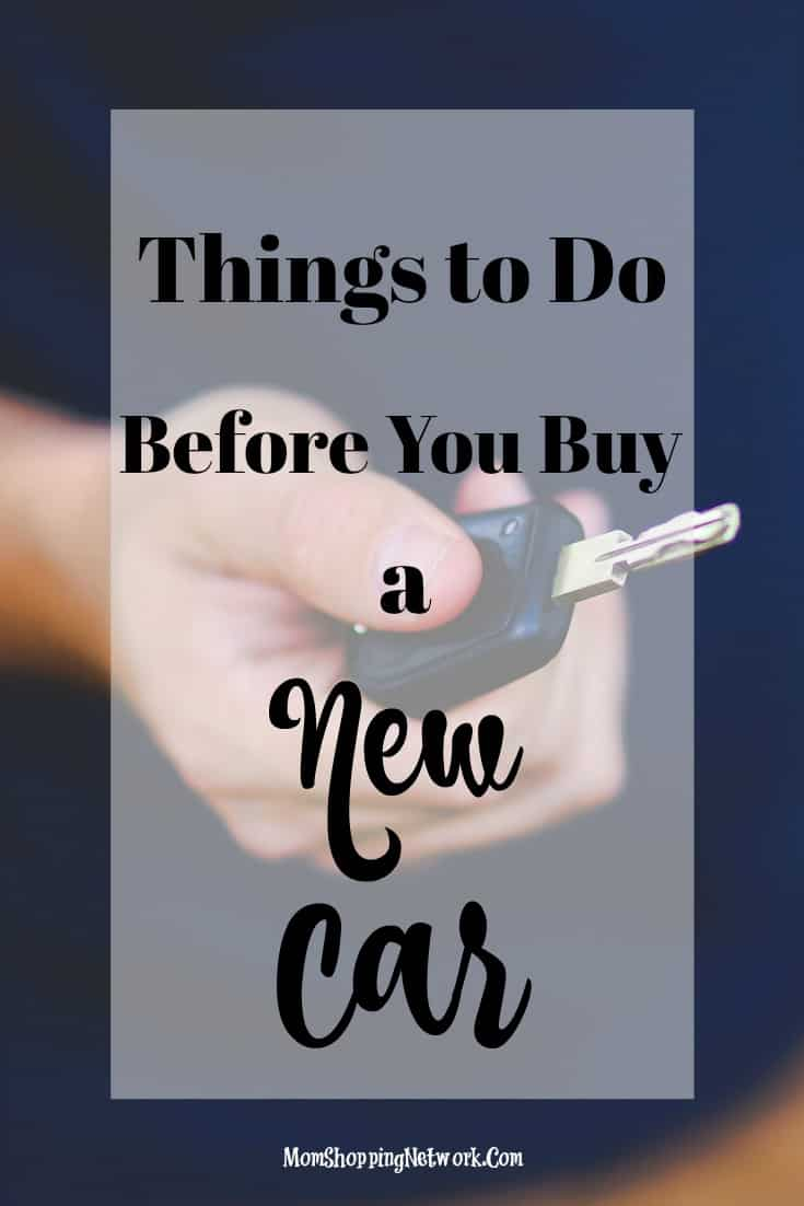 These are things you should definitely do before you buy a new car!