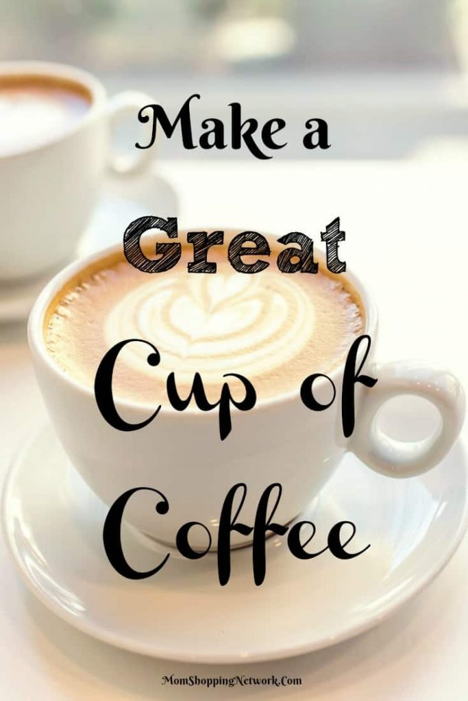 Who knew it was so easy to make a great cup of coffee?!