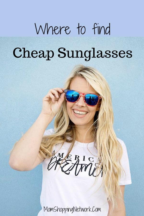 If you're looking for cheap sunglasses, this is such a good place to get them! Good quality and very affordable, you'll definitely save money here!