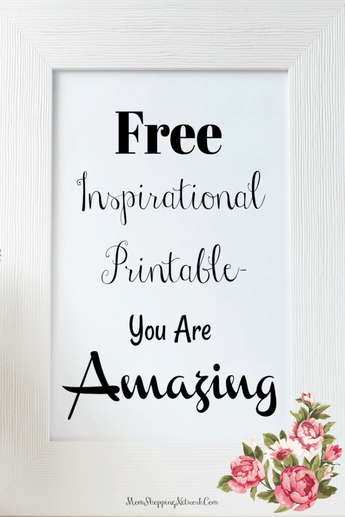 I love Free Printables! This Free Inspirational Printable will brighten up any room. Free Printables|Free Insprational Printable|Free Printable Download