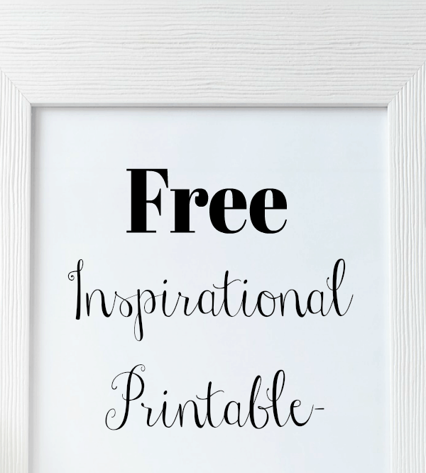 Free Inspirational Printable- You Are Amazing