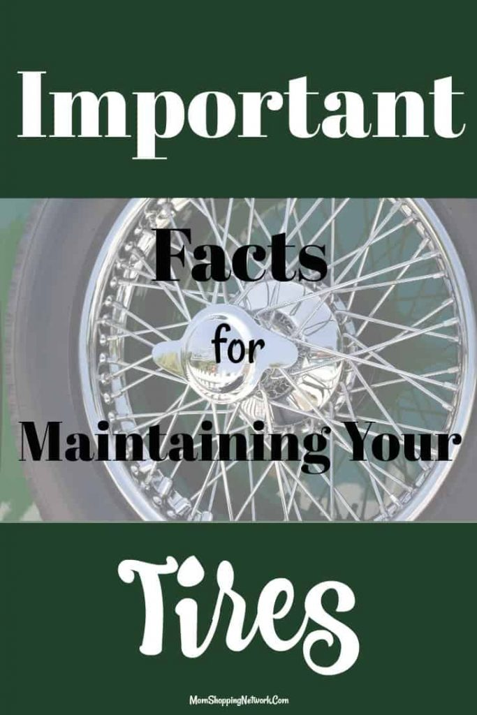 Every mom should know these important facts for maintaining your tires!