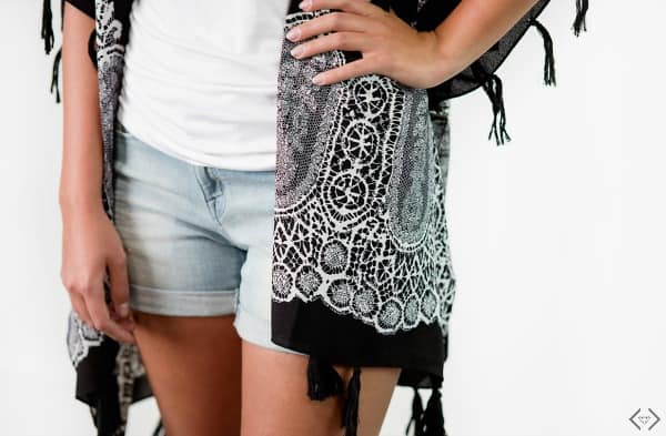 These gorgeous Kimonos are great for wearing by the pool! Summer Fashion|Kimono|Cover Up