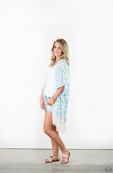 This Kimono is perfect for summer and under $10! Kimono|Summer Fashion|Cover Ups