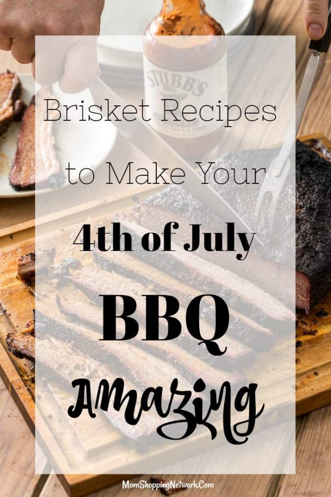 These brisket recipes will be great on the 4th of July!
