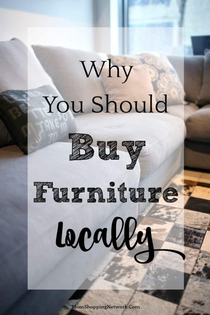 Great tips for why you should buy furniture locally, glad I found this!