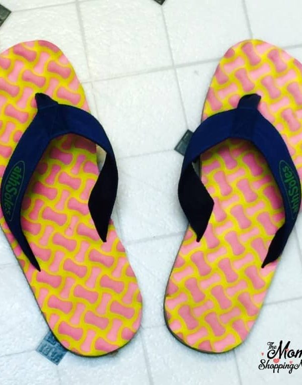Ahhsoles Textured Flip Flops Are Offensively Comfortable
