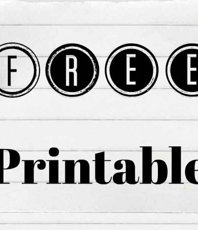 Free Printable Household Supplies Shopping List