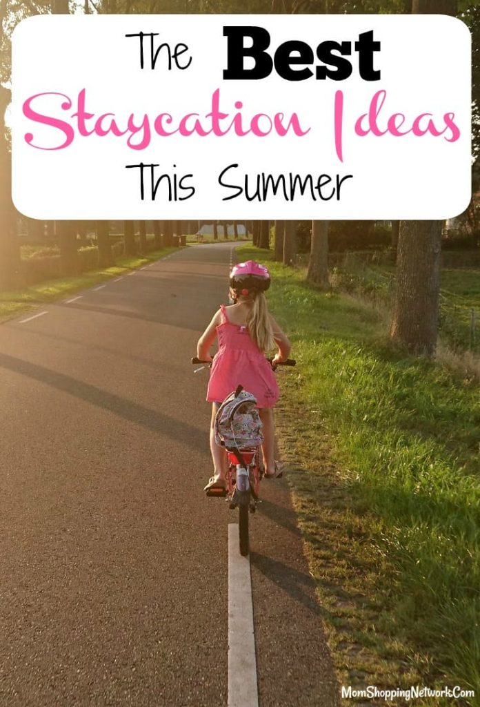The Best Staycation Ideas This Summer, because taking a vacation isn't always in the budget! Staycation Ideas|Vacation on a budget|Cheap Vacation Ideas