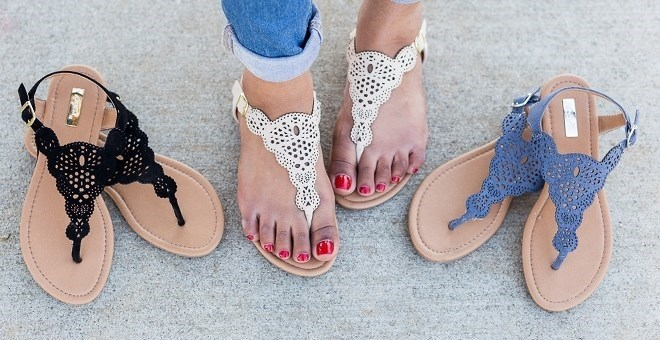 This is one of the best places to get affordable summer sandals, I just love Jane.com!