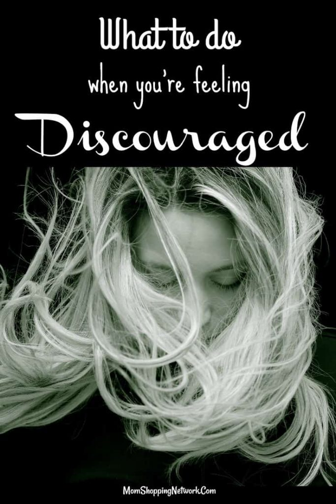 What do you do when you're feeling discouraged? These tips will definitely help you come out of your funk! Feeling discouraged|discouragement|feeling discouraged quotes