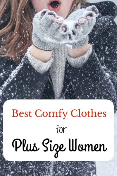 Baby It's Cold Outside- Warm Comfy Clothes for Plus Size Women