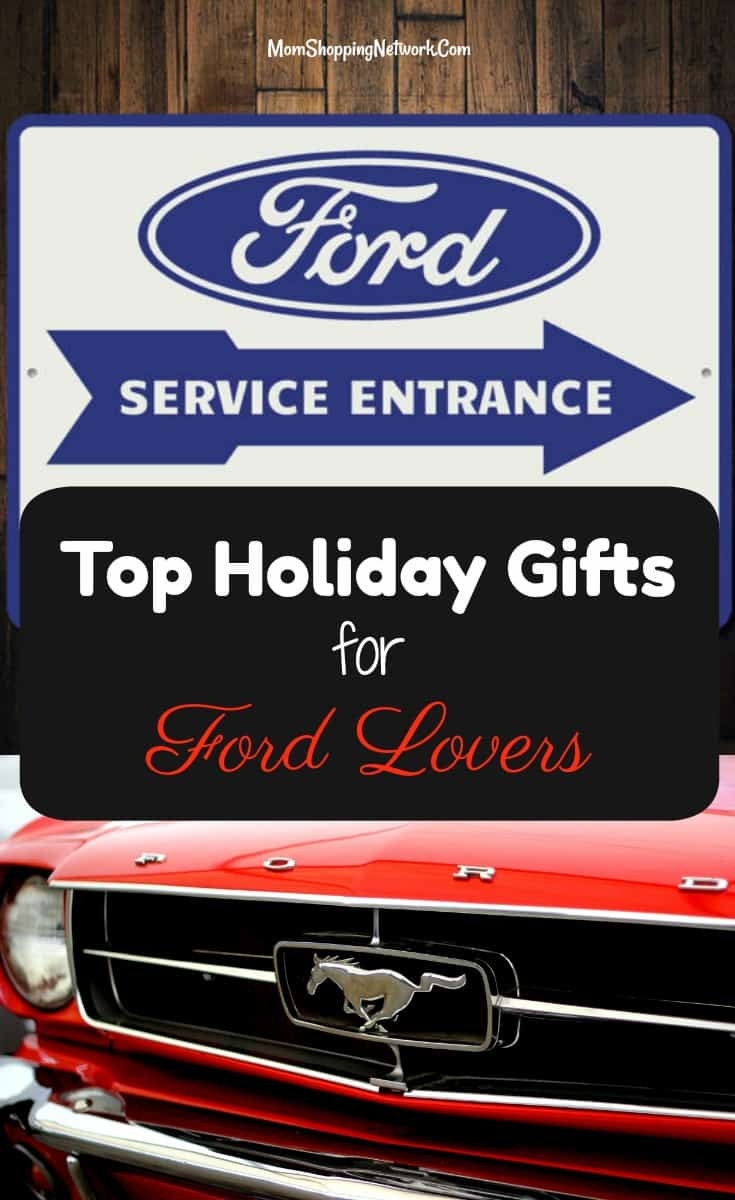top holiday gifts for ford lovers the mom shopping network. Black Bedroom Furniture Sets. Home Design Ideas